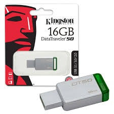 Memoria USB 16Gb Kingston DT50 verde metal
