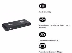 HDMI Splitter x 4