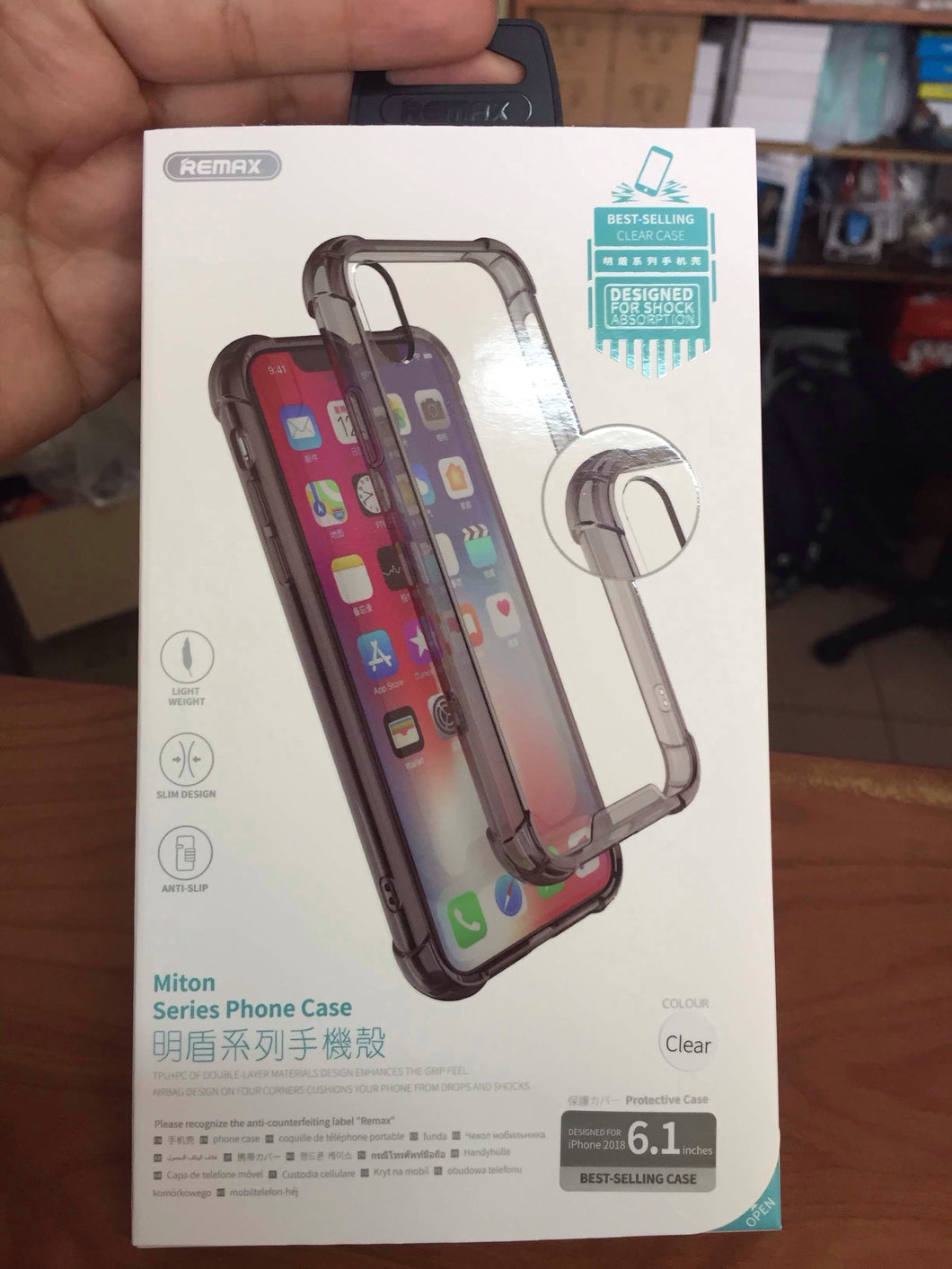 iPhone X / XS / Xs Max case transparente TPU