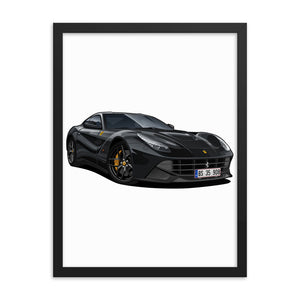Get A Digitally Drawn Poster of Your Car!