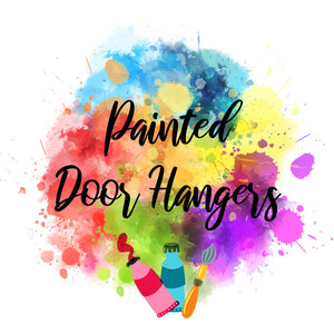 Painted Door Hangers