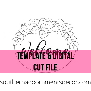 Floral Welcome Template File