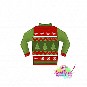 Christmas Sweater Blank