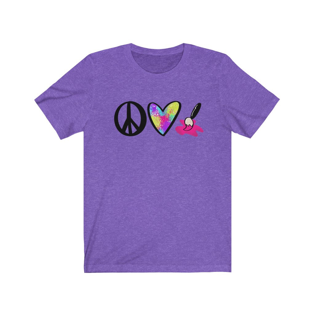 Peace Love Paint T-shirt