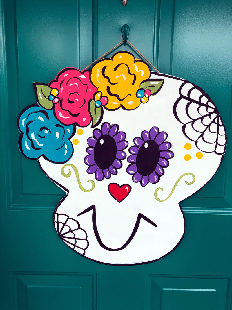 Sugar Skull Door Hanger - Instructional Video Tutorial