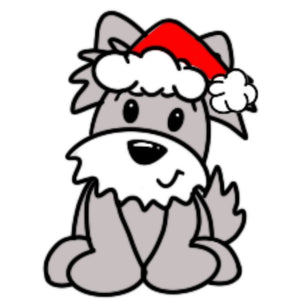 Christmas Dog Wooden BLANK