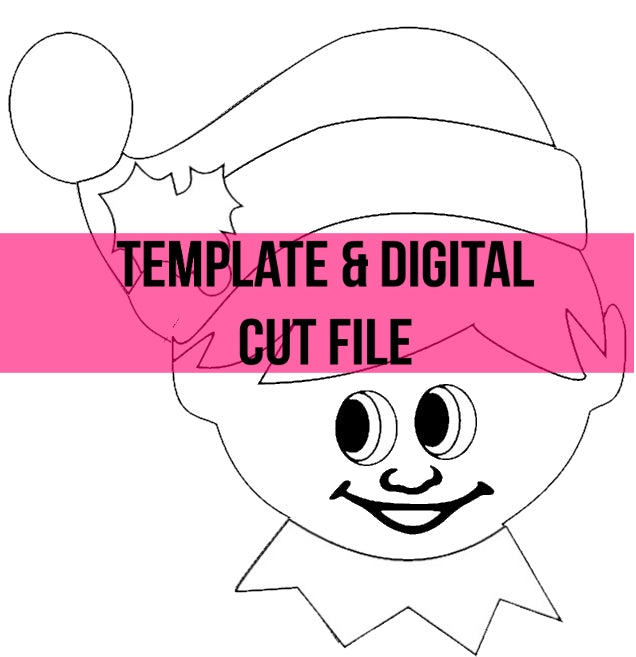 Elf on Shelf Template & Digital Cut File