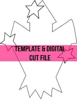 Firecrackers Template & Digital Cut File