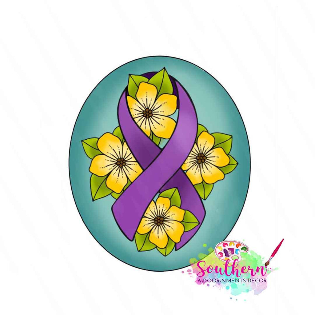 Floral Ribbon Template & Digital Cut File
