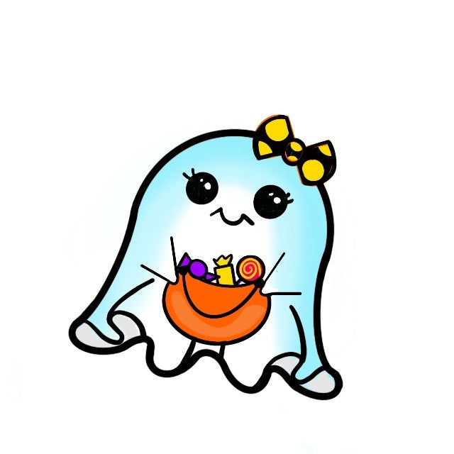 Ghost Cutie Template & Digital Cut File