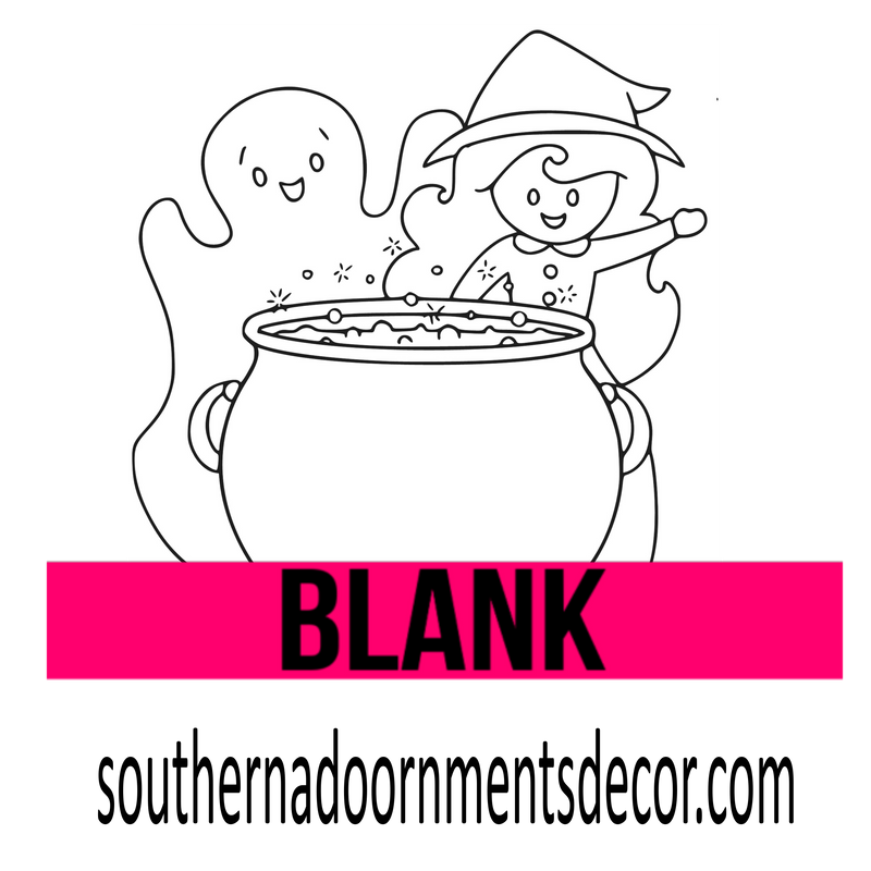 Ghost and Witch BLANK