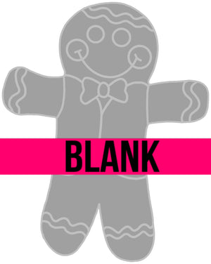 Gingerbread Boy Wood Blank