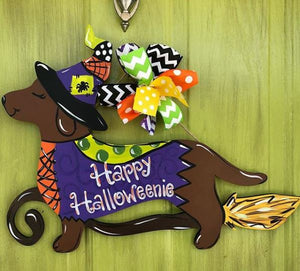 BLANK Halloweenie Ornament, Attachment or Door Hanger