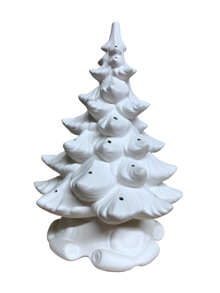 Ceramic Christmas Tree, Grandmother, Atlantic #64,  16""