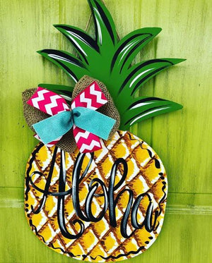 BLANK Pineapple Ornament, Attachment or Door Hanger