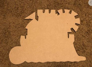 BLANK Sandcastle Ornament, Attachment or Door Hanger