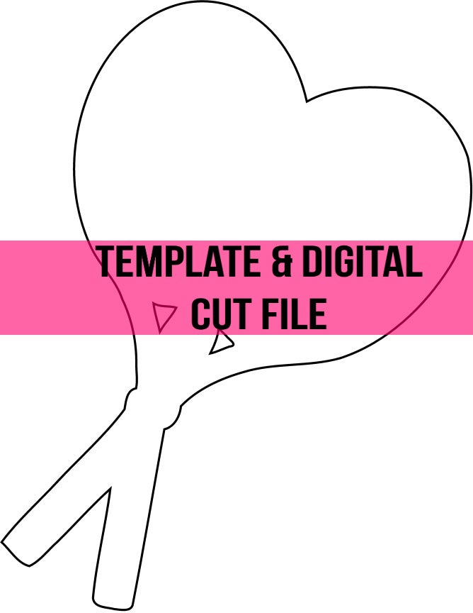 Tennis Template & Digital Cut File