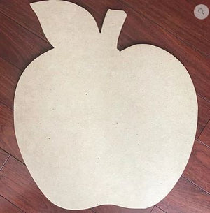 BLANK Teacher's Apple Door Hanger