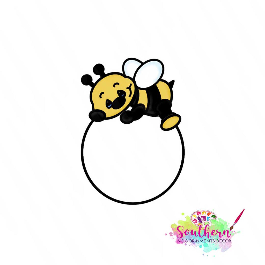 Baby Bee Template & Digital Cut File