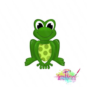 Frog Template & Digital Cut File