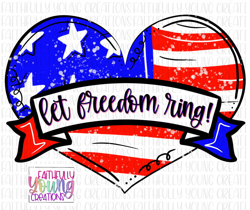 Let Freedom Ring Template File