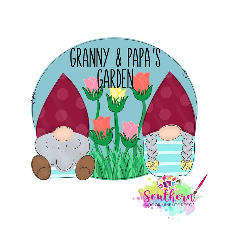 Granny and Papas Template & Digital Cut File