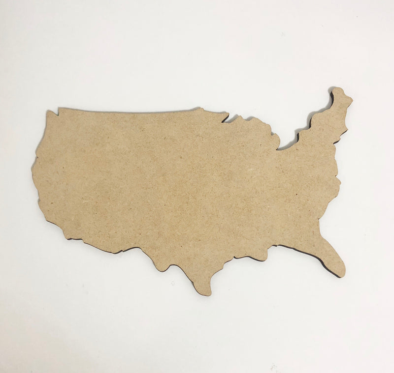 BLANK USA Ornament, Attachment or Door Hanger