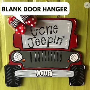 Blank Jeep Ornament Attachment Or Door Hanger Southern
