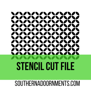 Lattice Stencil Digital Cut File