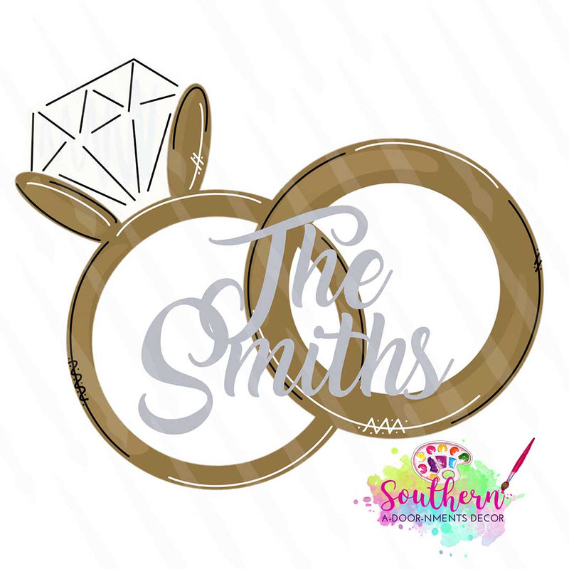 Rings Template & Digital Cut File