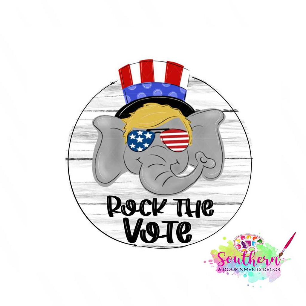 Rock The Vote BLANK