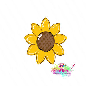 Sunflower Template & Digital Cut File