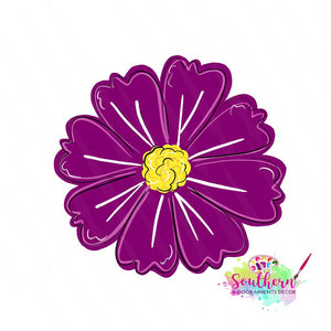 BLANK Violet Ornament, Attachment or Door Hanger
