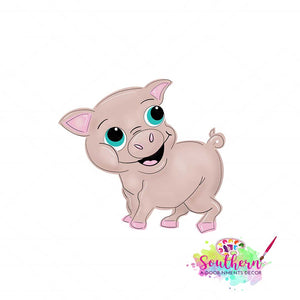 Wilbur The Pig Template & Digital Cut File