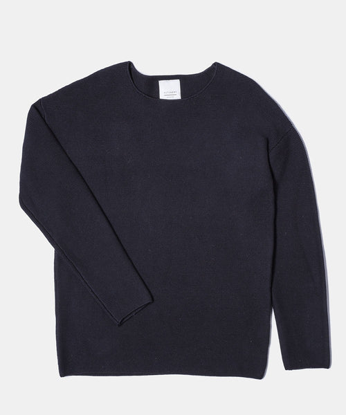 Angus Knit - Navy