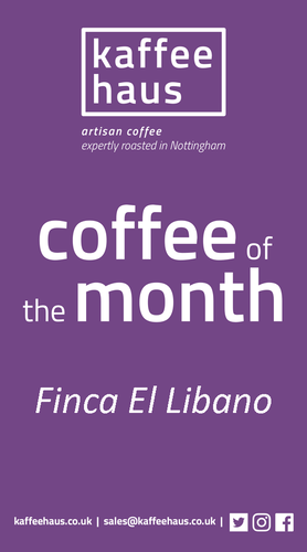 February 2019's  Coffee of the Month