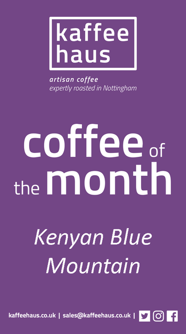 January 2019's  Coffee of the Month