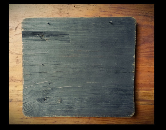 Smaller Sized- Reclaimed Wooden Chunky Clipboard Finishing Boards-  For Displaying Stitching And  Crafting