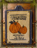 Pumpkin Seeds- Punch Needle Pattern- As seen in 2016 PNPS Fall Issue- Mailed Version