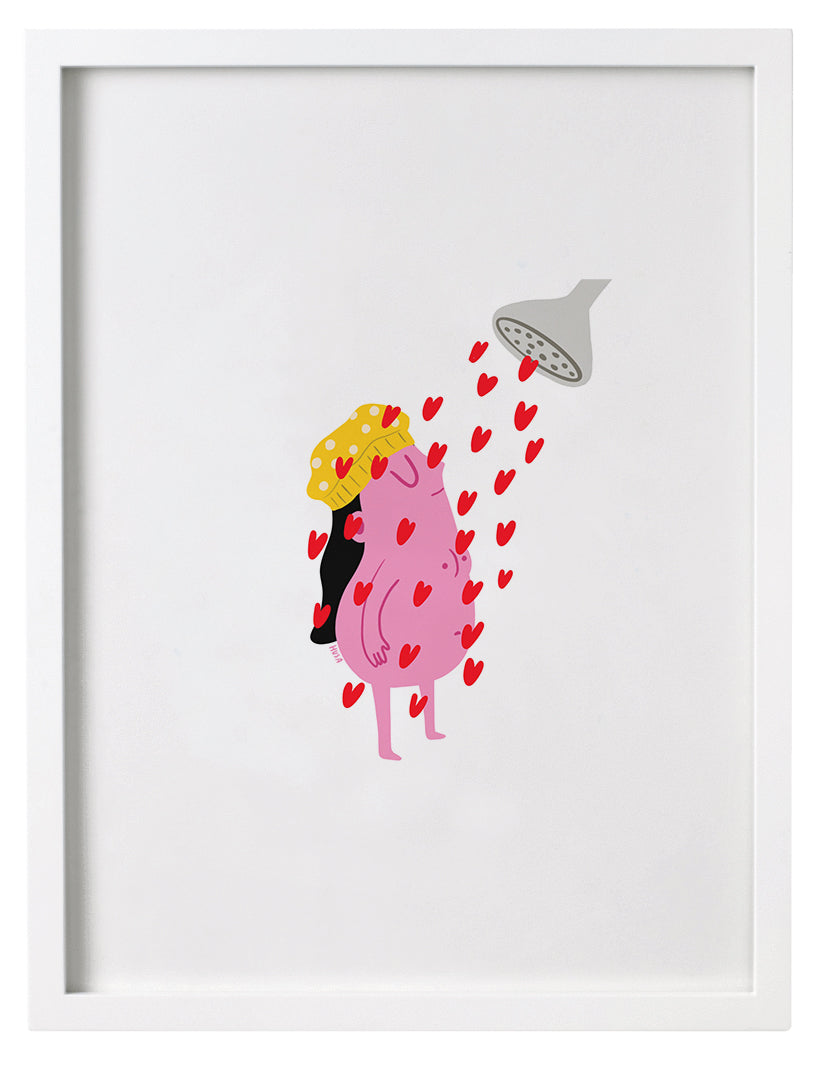 Self Love Shower print