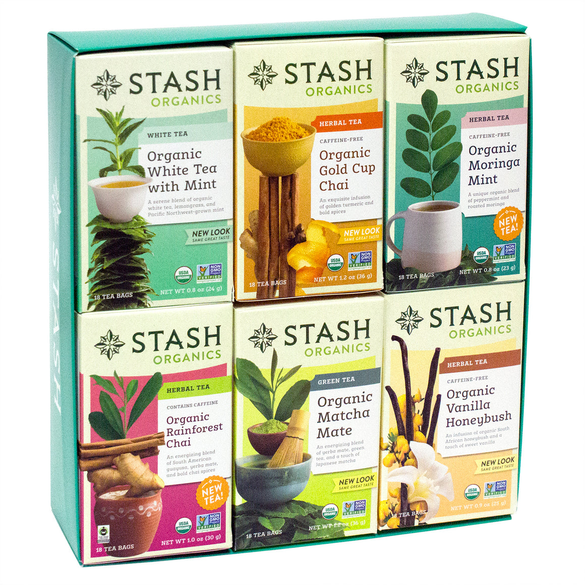 Flavorful Organic Tea Gift Collection