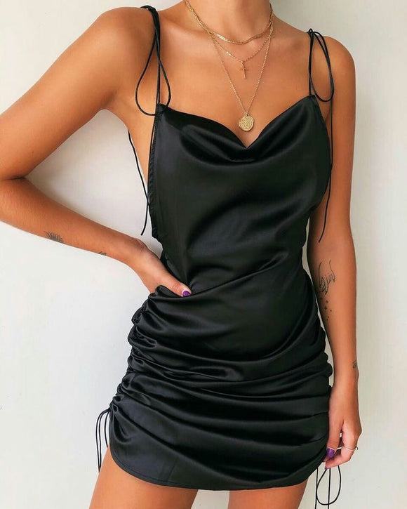 SCRUNCH ME UP DRESS