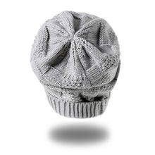 Crochet Knitted Beanie - BlondeRambler