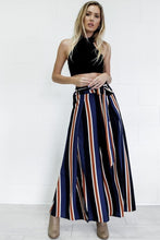 Color Striped Wide Pants - BlondeRambler