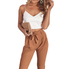 Casual Pant And Crop Set