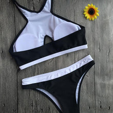 Cross Over Halter Bikini Set - BlondeRambler