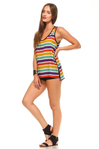 Color Stripe Tank - BlondeRambler