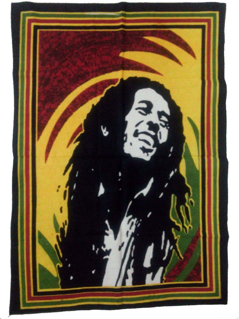 Tapestry Bob Marley Rasta Background