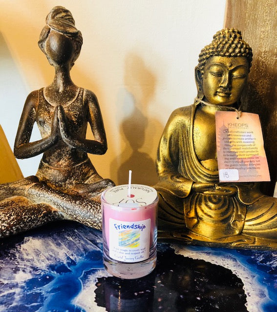 Friendship Votive Soy Candle