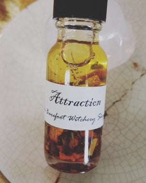 Barefoot Witchery Attraction Oil